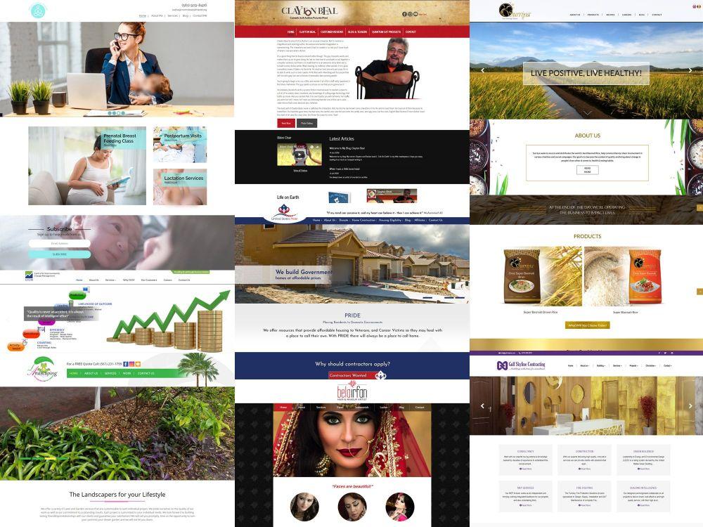 Fast Wordpress Developer Portfolio