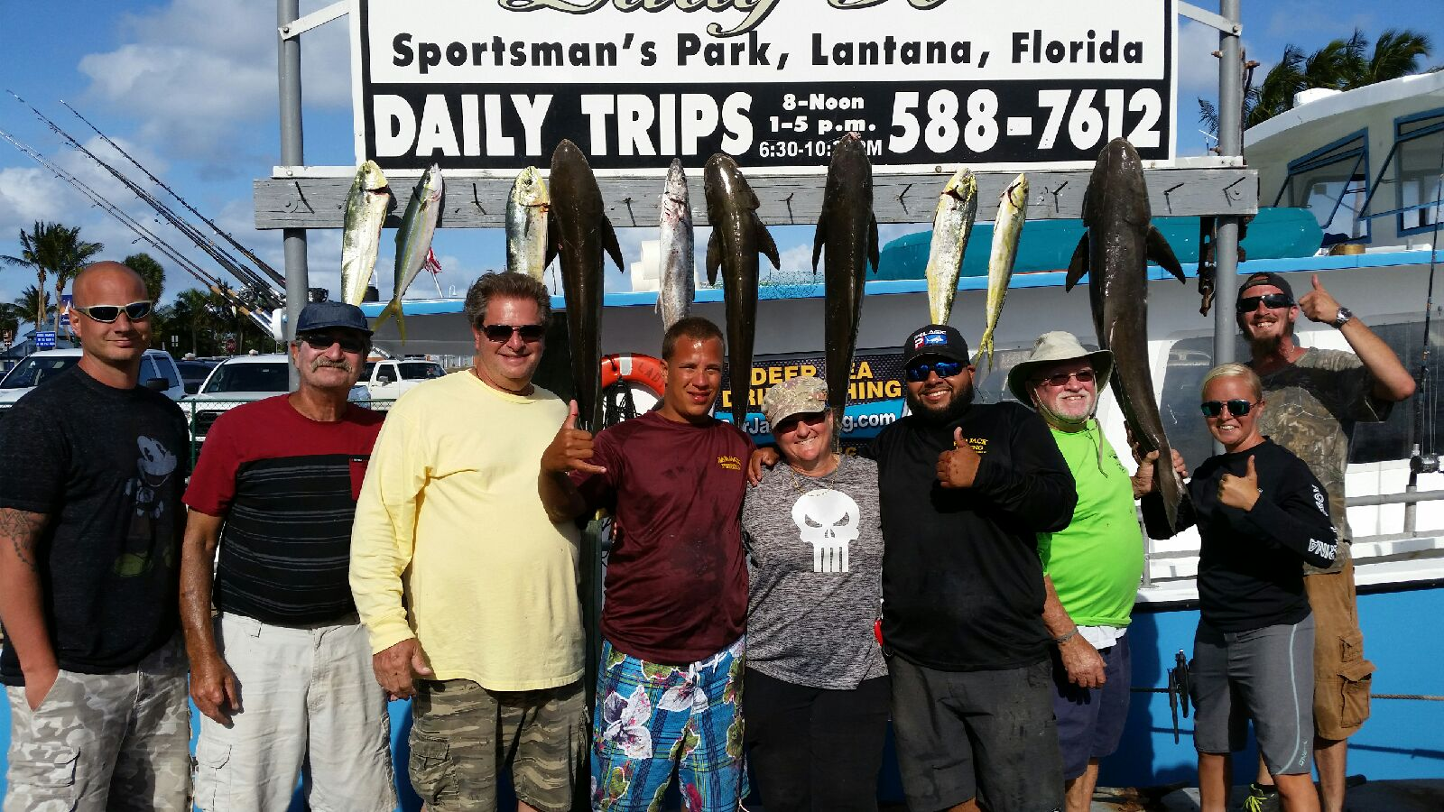 Bar Jack Fishing - Lantana Recreational
