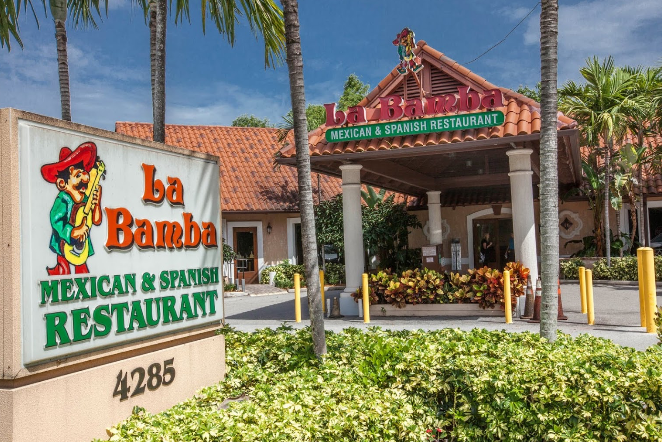 La Bamba Mexican and Spanish Restaurant Webpagedepot