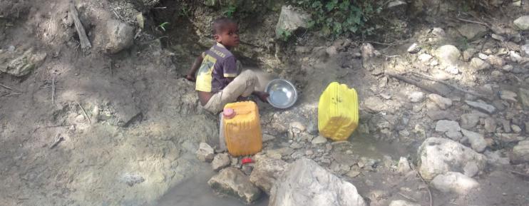Haitian Living Water - New Cumberland Contemporary
