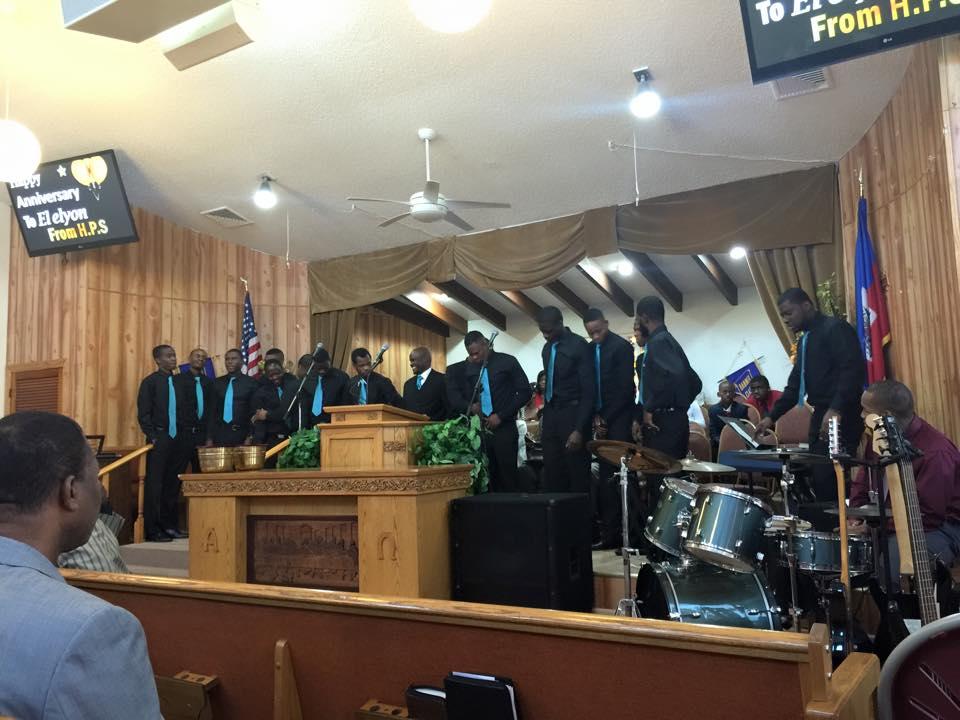 Peniel Haitian Baptist Church of Lake Worth Themselves