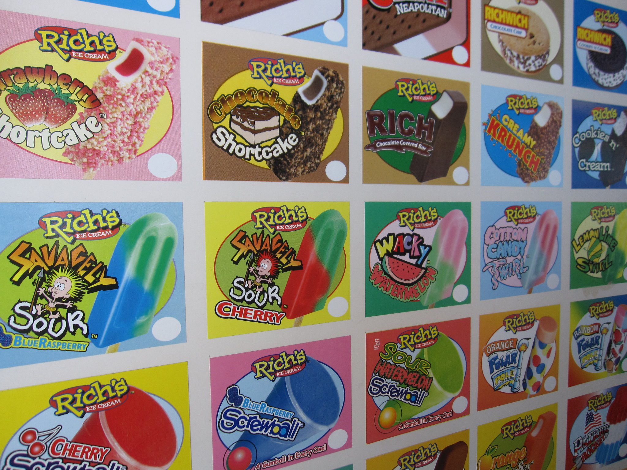 Rich's Ice Cream Informative