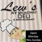 Lew's New York Broadway Deli - Boynton Beach Lew's New York Broadway Deli - Boynton Beach, Lews New York Broadway Deli - Boynton Beach, 6655 Boynton Beach Blvd, Boynton Beach, Florida, Palm Beach County, Cafe, Restaurant - Cafe Diner Deli Coffee, coffee, sandwich, home fries, biscuits, , Restaurant Cafe Diner Deli Coffee, burger, noodle, Chinese, sushi, steak, coffee, espresso, latte, cuppa, flat white, pizza, sauce, tomato, fries, sandwich, chicken, fried