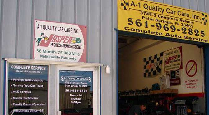 A-1 Quality Car Care - Palm Springs Maintenance