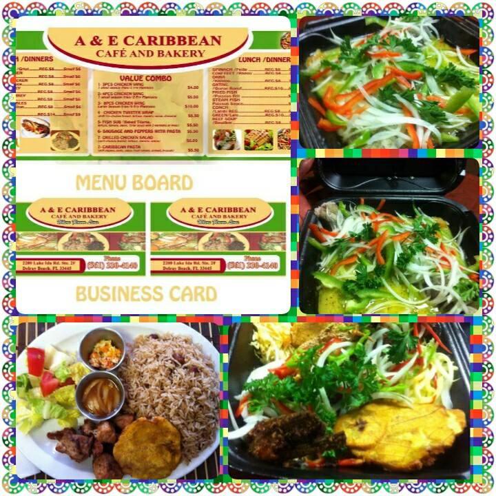 AE Caribbean Cafe - Delray Beach Information