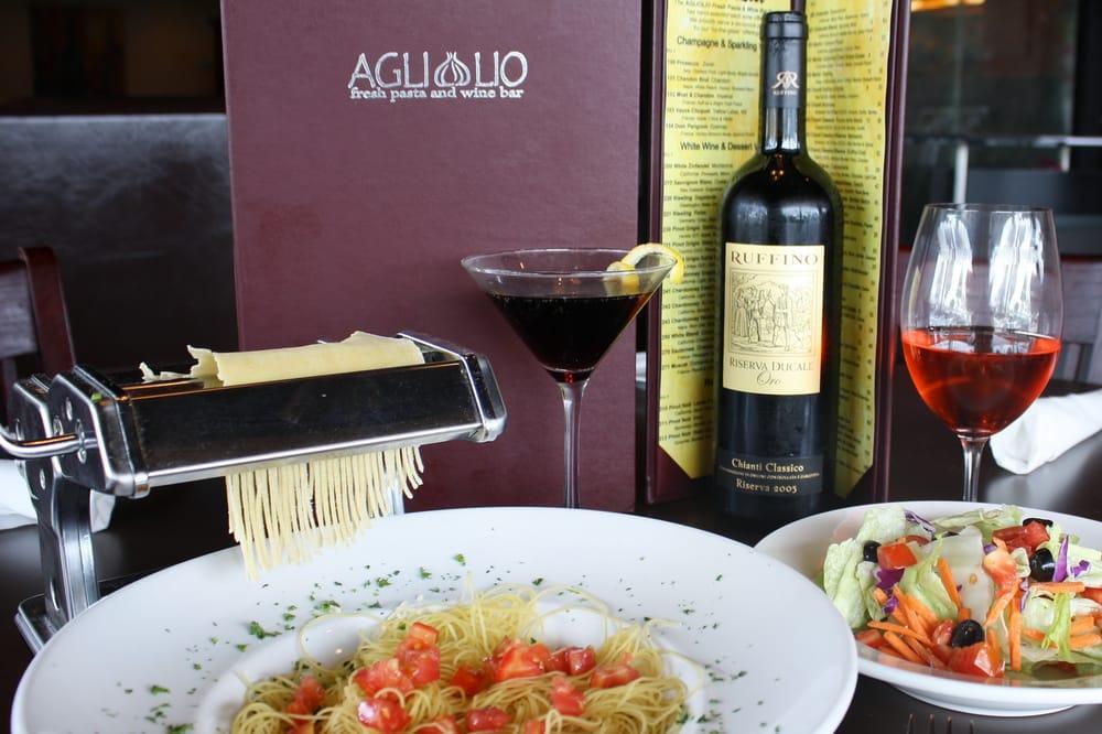Agliolio Italian Bistro & Bar lasagna