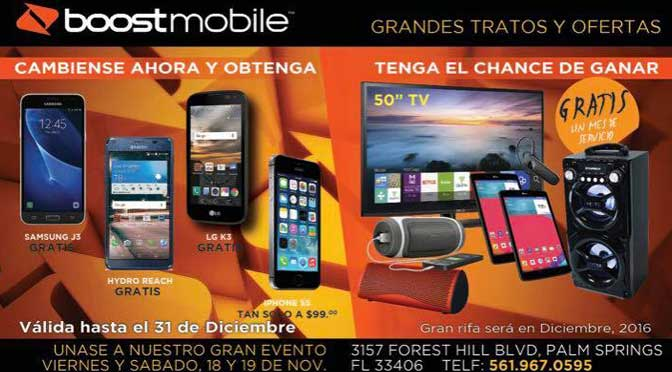 Boost Mobile by Golden Wireless appliances