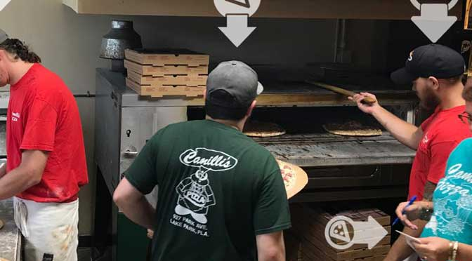 Camilli's Pizza Reservations
