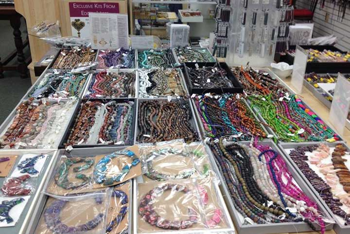 Crystal Creations Bead Institute gems