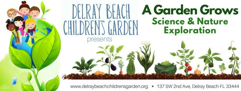 Delray Beach Children's Garden semi-natural space