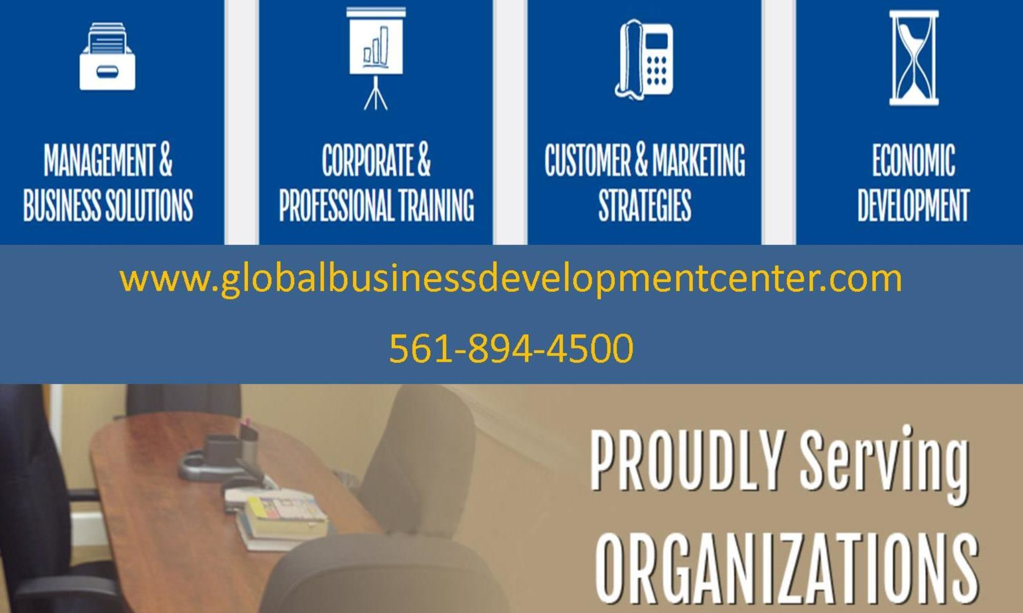 Global Business Development Center management skills