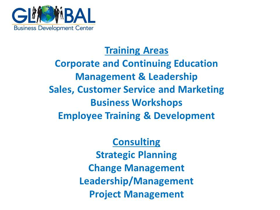Global Business Development Center Information