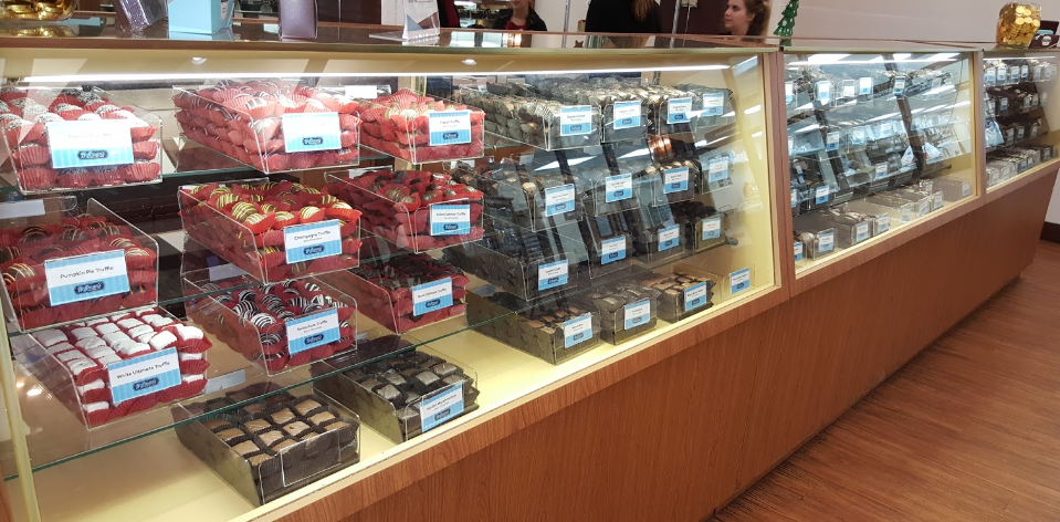 Hoffmans Chocolates creamery