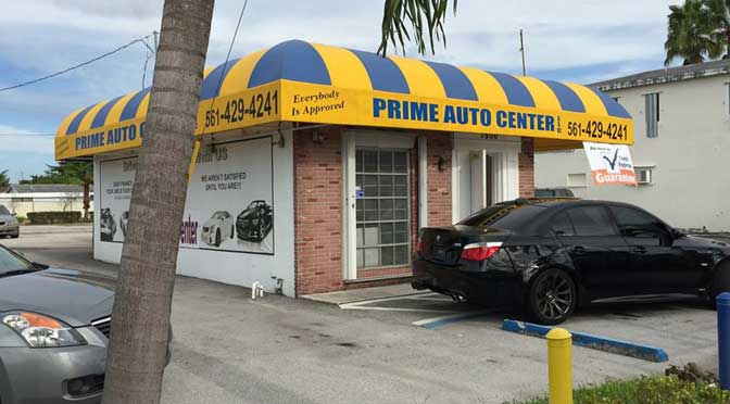 Prime Auto Center Information