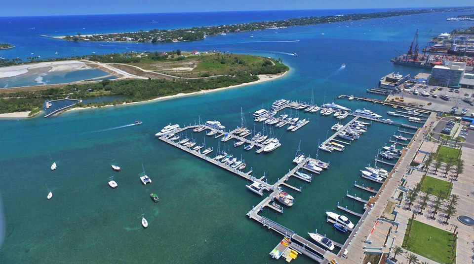 Riviera Beach City Marina motor