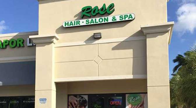 Rose Hair Salon Spa hair