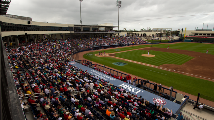 The Ballpark of the Palm Beaches ball game