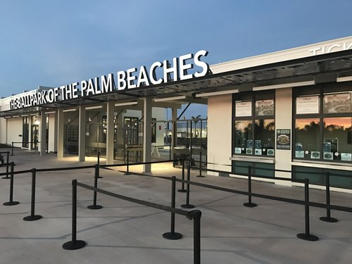 The Ballpark of the Palm Beaches Themselves