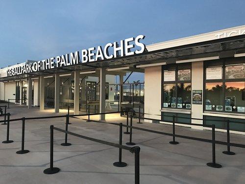 The Ballpark of the Palm Beaches Ball Field
