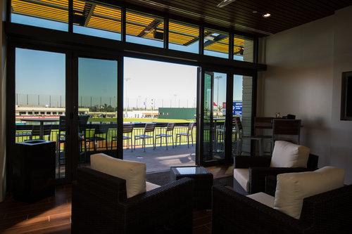 The Ballpark of the Palm Beaches exhibit