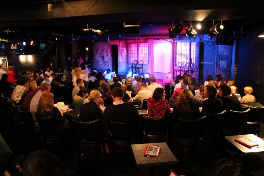 Improv Comedy Club center