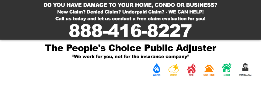 The People's Choice Public Adjuster - Lake Worth Accommodate