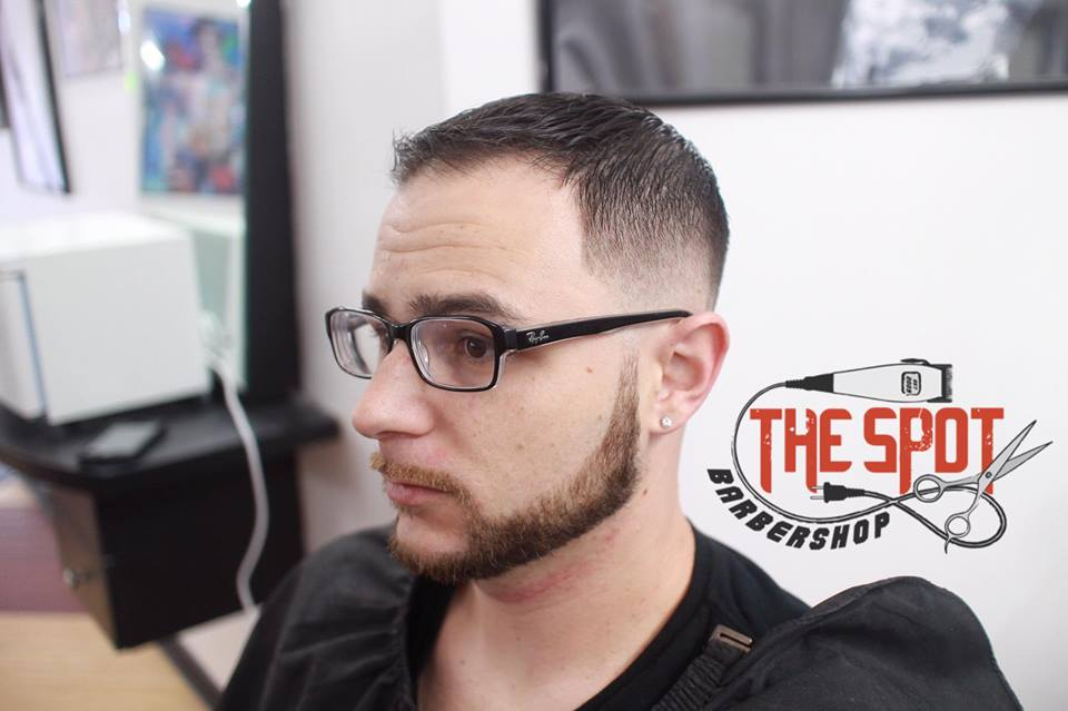 The Spot Barbershop cut