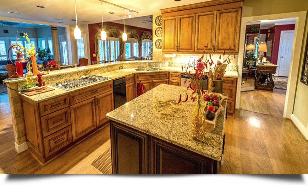 Tops Kitchen Cabinet & Granite addition