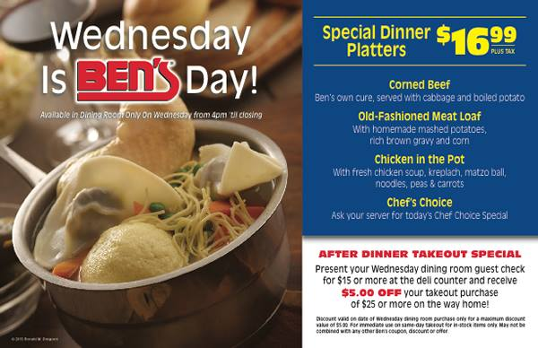 Ben's Kosher Deli Restaurant & Caterers - Boca Raton Webpagedepot