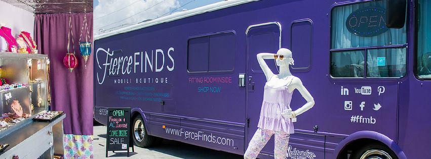 Fierce Finds Mobile Boutique - Boca Raton Webpagedepot