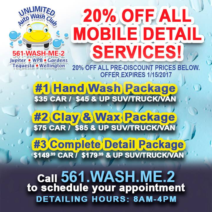 Unlimited Auto Wash Club of Jupiter, West Webpagedepot