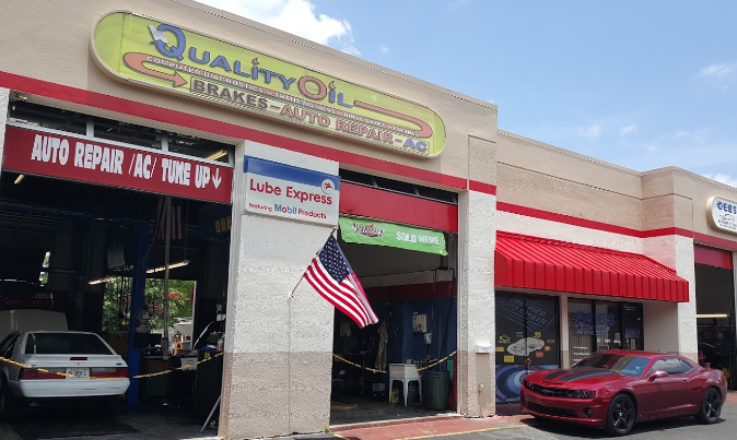 Quality Oil Exchange - Delray Beach Accessibility