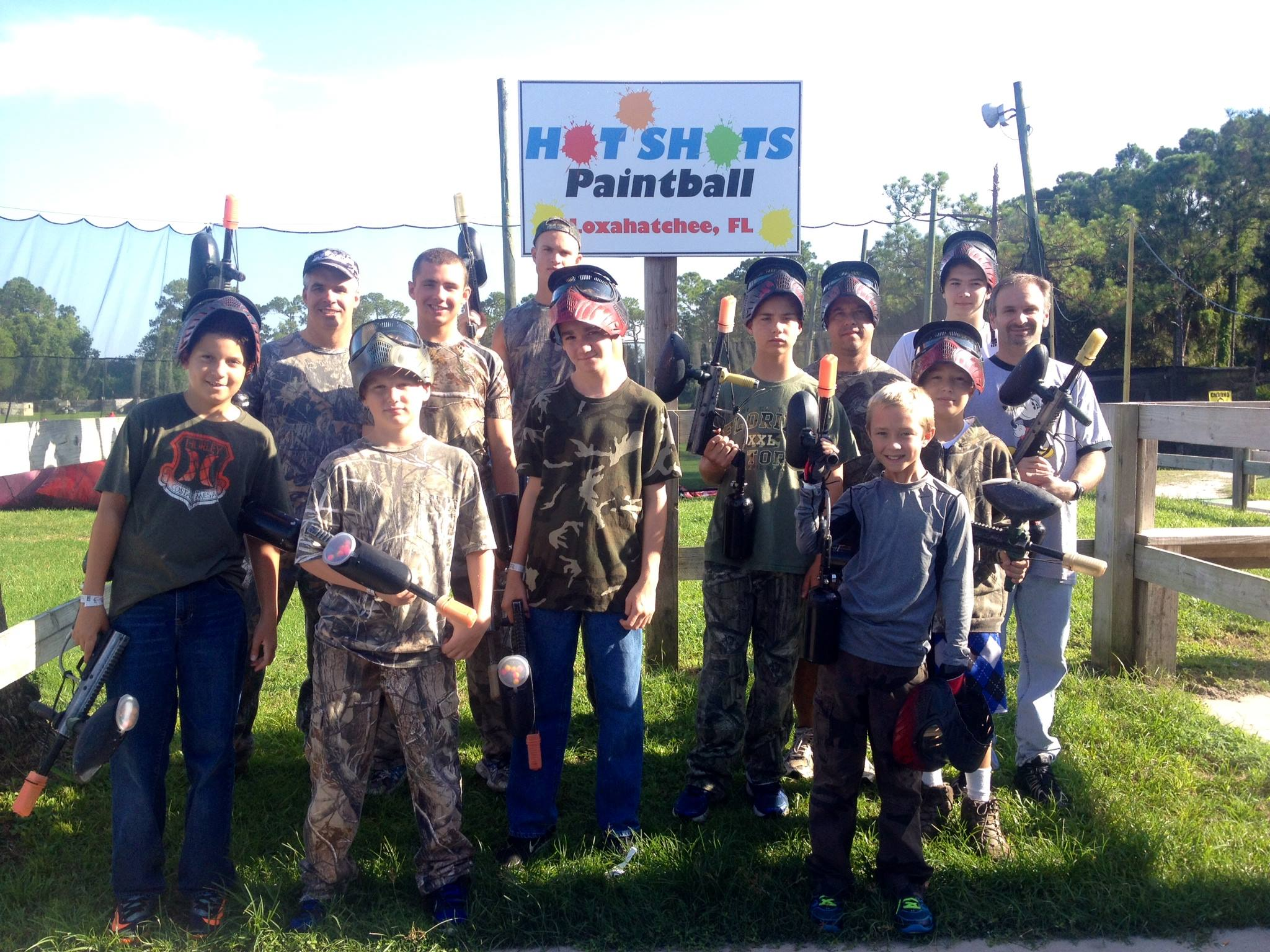 Hotshots Paintball - Loxahatchee Groves Appointments