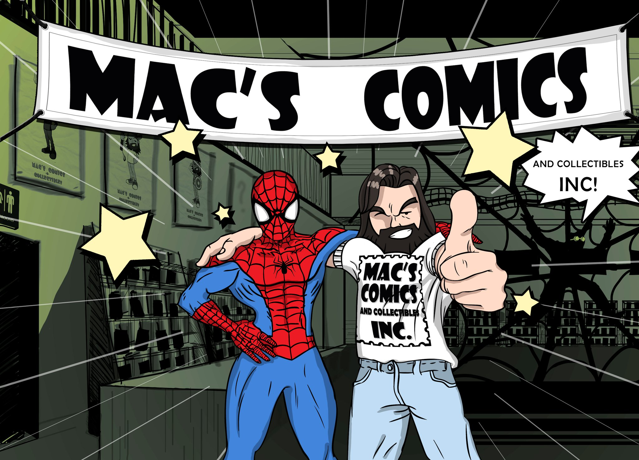Mac's Comics & Collectibles - Miami Collectibles