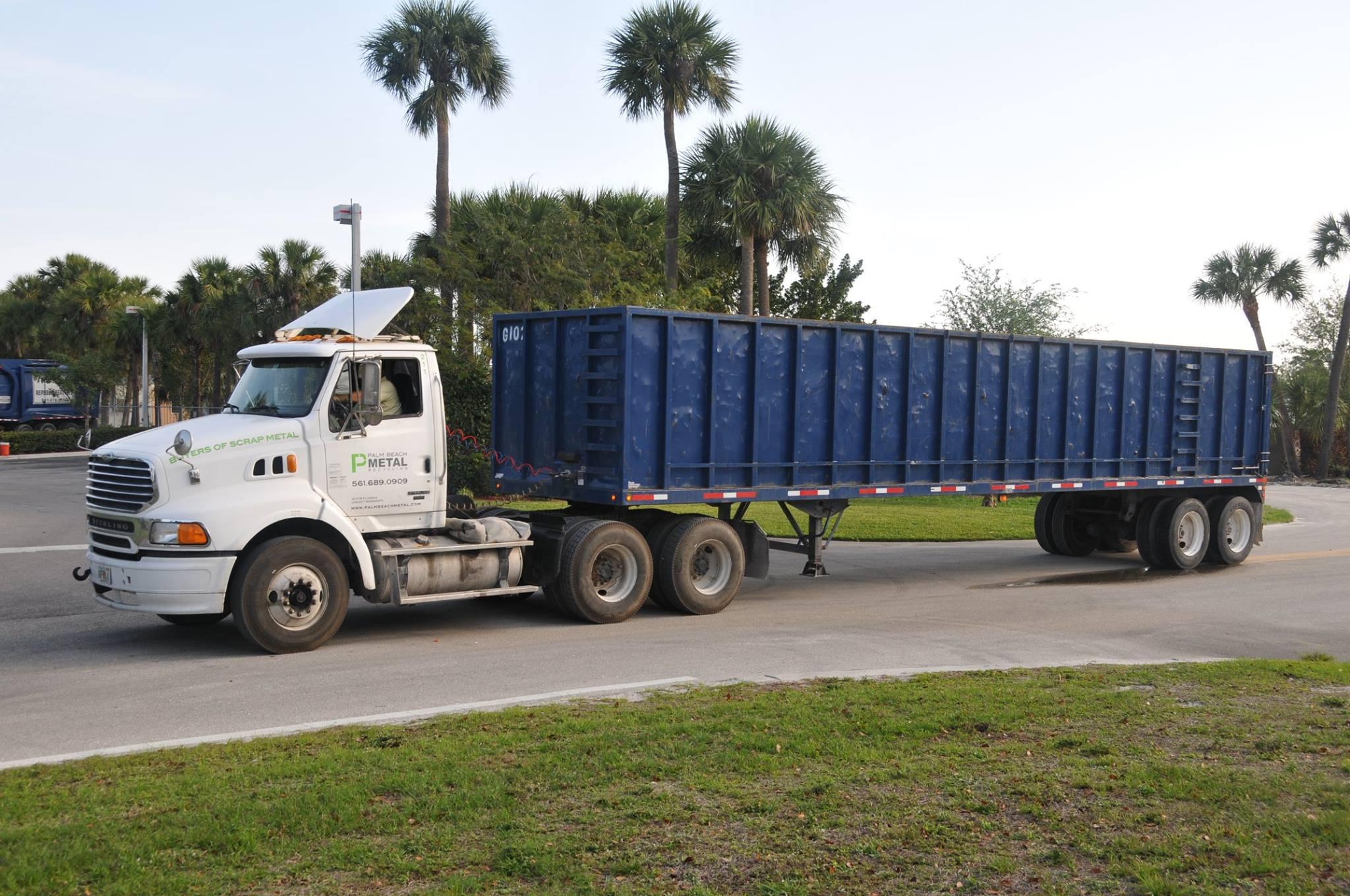 Palm Beach Metal Recycling Information