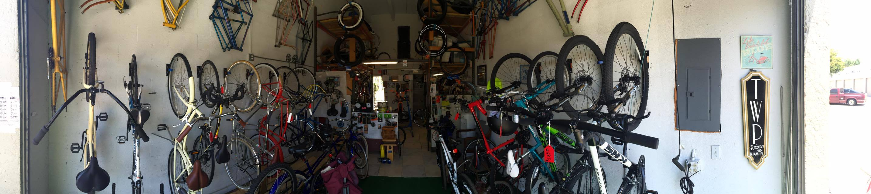 Two Wheel Picker Bicycle Shop - Miami Informative