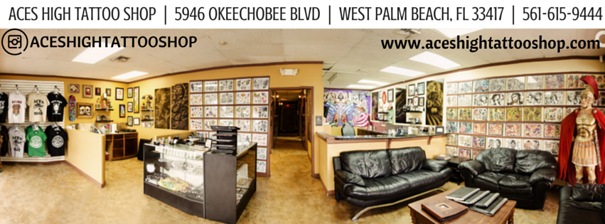 Aces High Tattoo Shop - West Palm Beach Informative