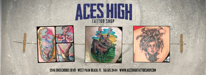 Aces High Tattoo Shop - West Palm Beach Appointments