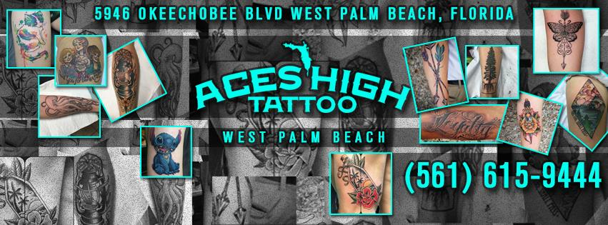 Aces High Tattoo Shop - West Palm Beach Certification