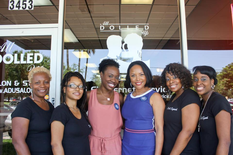All Dolled Up Salons - North Palm Beach Information