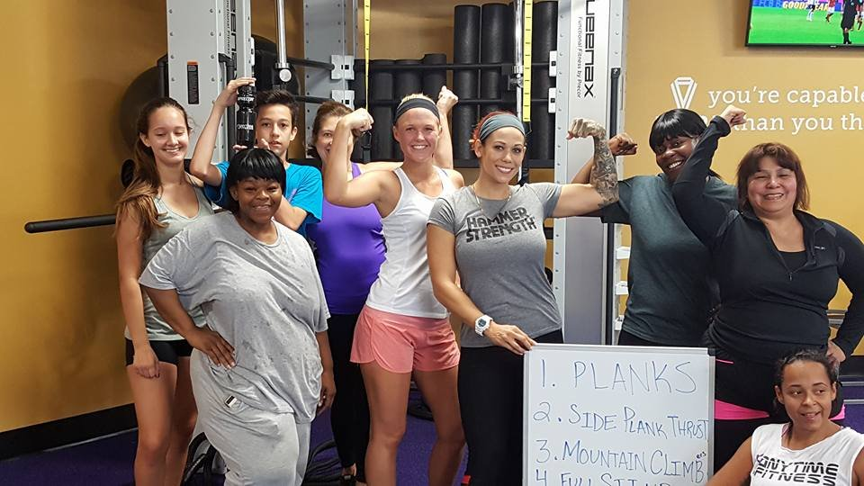 Anytime Fitness Information