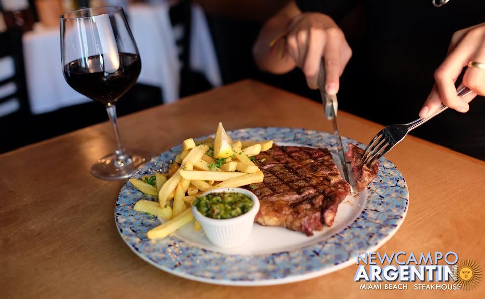 New Campo Argentino Steakhouse - Miami Beach Establishment
