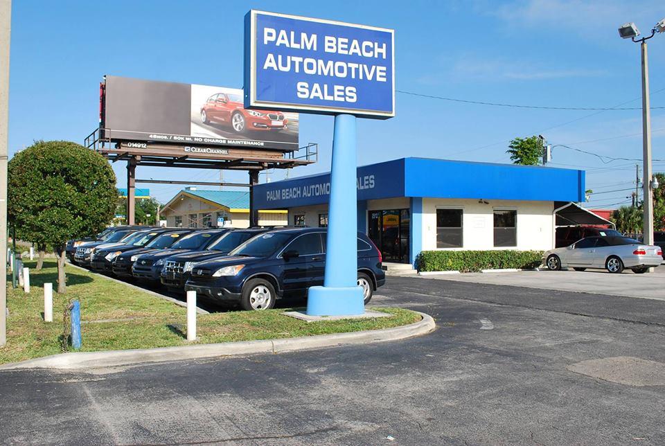 Automotive Sales - West Palm Beach Availability