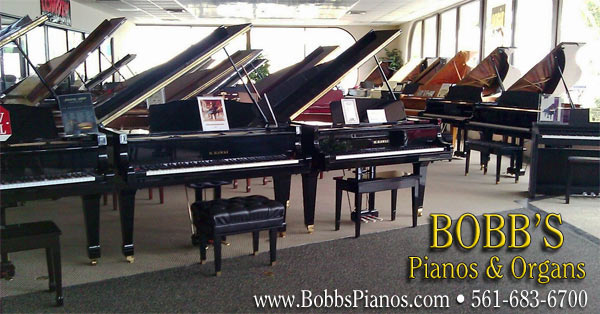 BOBB'S Pianos & Organs - West Palm Beach Information