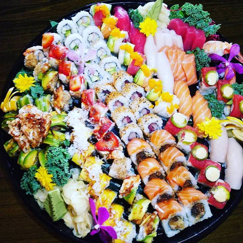 Chubby Salmon Hibachi and Sushi Bar - Jupiter Contemporary
