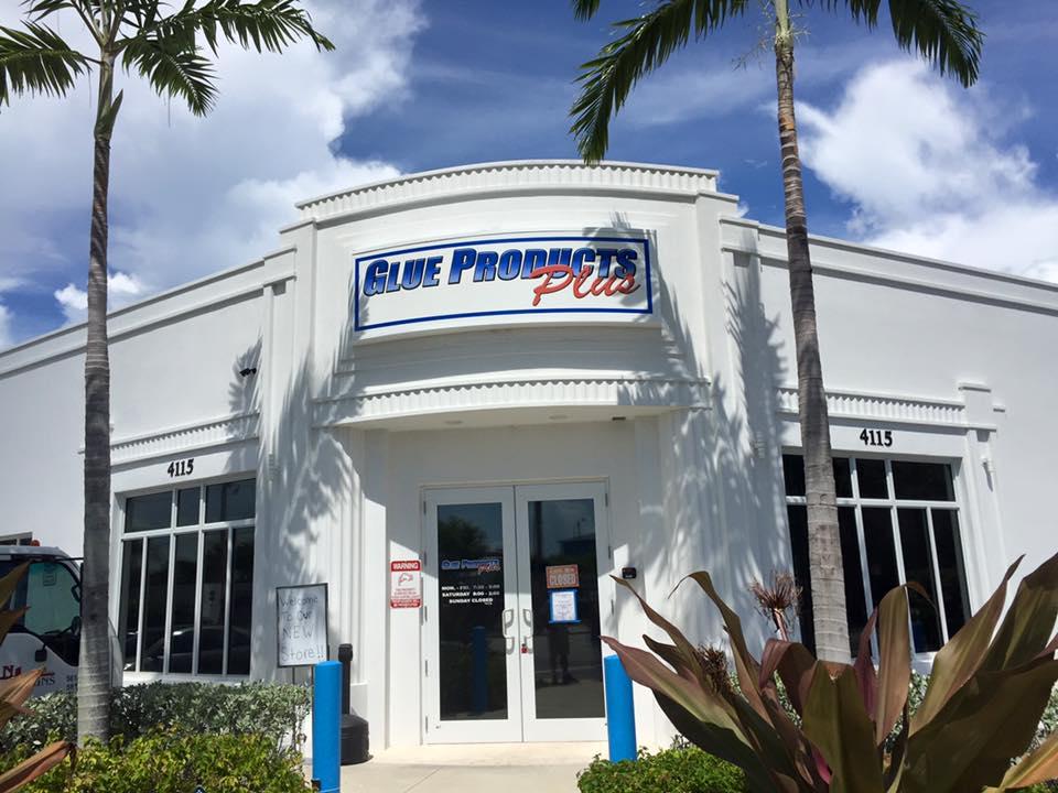 Glue Products Plus - West Palm Beach Environment