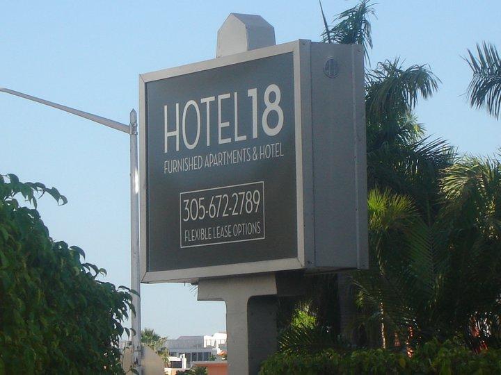Hotel 18 Information