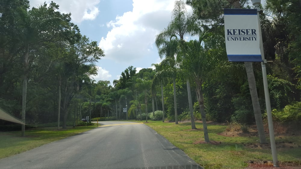 College Of Golf at Keiser University - West Palm Beach Certificate