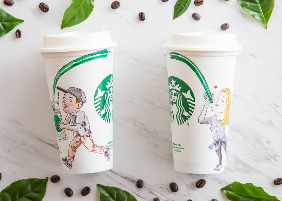 Starbucks Clematis Thumbnails