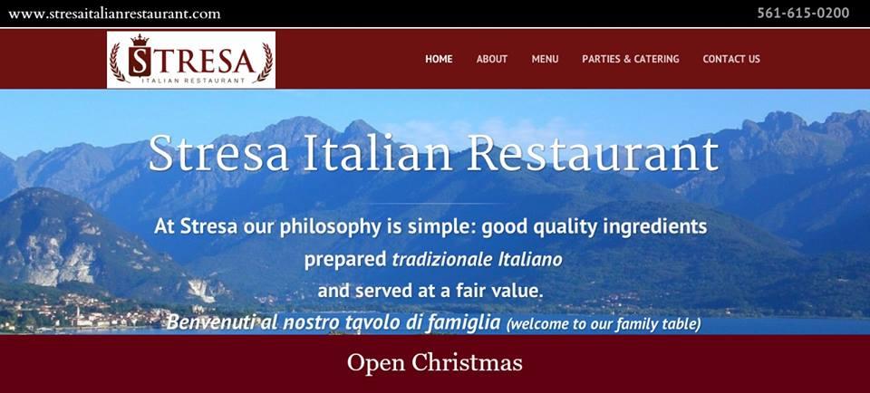 Stresa Italian Restaurant - West Palm Beach Flexibility
